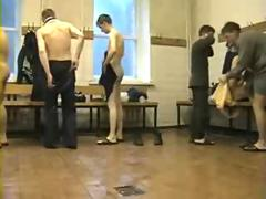 Soldiers Changing Clothes - Spy Cam Videos