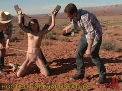 Hitchhiker Gets Tied Up in the Desert