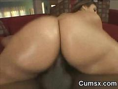 Juicy Phat Ass Whooty Hoe Riding BBC