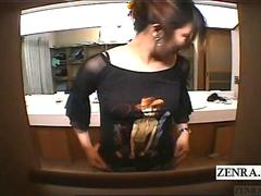 Subtitled ENF Japanese amateur enters male bathhouse