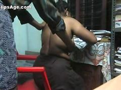 Desi Indian Malayali wife sitting nude getting her boobs felt from behind