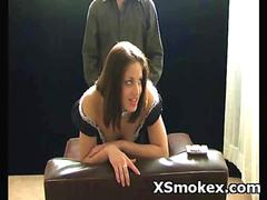 Hot Horny Slut Entertianingly Smoking Sex