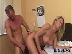 Bridgette gets busy mature