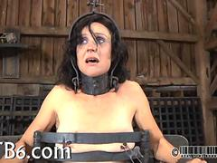 Anal torture with  squirting bdsm 2