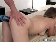 Young college girl exploited -hookX