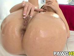 Jada Stevens gets analized