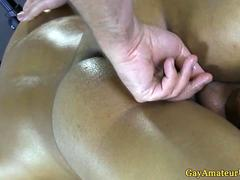 Gaystraight amateur jock ass fingered in HD