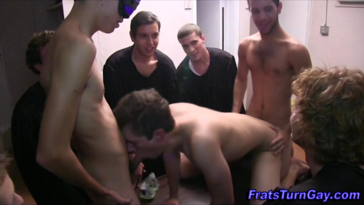 Teen Amateur Straight Frat Pledge
