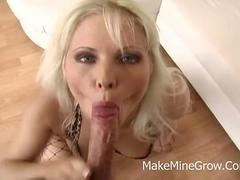Blonde hottie Kathy Anderson fucked between the buns
