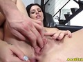 Analsex loving girlfriend bouncing on cock