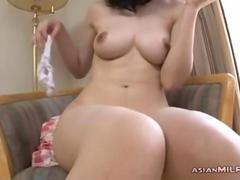 Milf getting her pussy fucked jerking off a guy ck