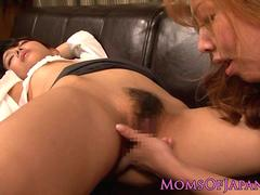 Mature Japanese business lady queens babe