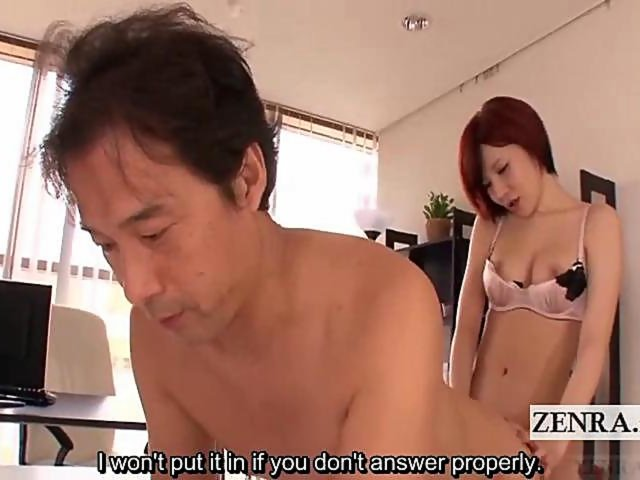 Subtitled Japanese futanari office anal sex and handjob on GotPorn (3806517)