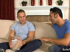 Brunette married male gets banged by a horny gay