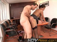 HDVPass Hot secretary brings sexual delights!