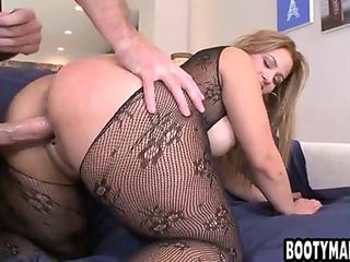 Big ass Latina gets fucked from behind