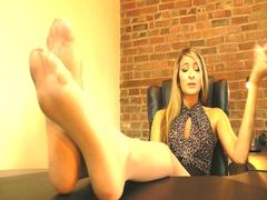 Felicias Stinky Nylon Feet