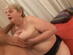 copulating a fat old hairy granny clip