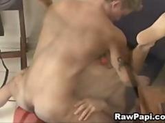 Sexy Latino Gay Loves Hard Bareback Fuck
