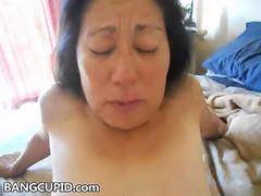 Squirting mature asian