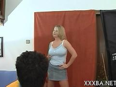busty ass babe has a hot and fun fuck to enjoy