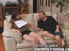 Three hole slutwife Penny trained by Dirty D and crew