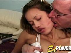 Ed Powers Takes Tight Pink Pussy Fucked