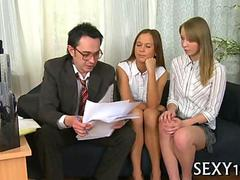 hot riding with mature teacher segment