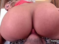 Wet pussy and phat ass
