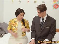 Mormon domina cum blessed