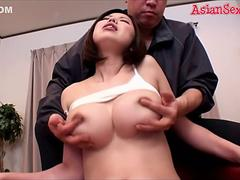 Amazing Japanese whore Mayuka Otsuki in Best big tits, nipples JAV clip