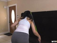 Big Butt Colombian Maid