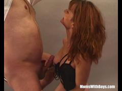 Sexy Photoshoot With MILF Brunette Ends Up Fucked