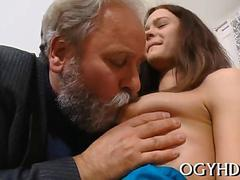 old fat dude drills  pussy segment feature 1