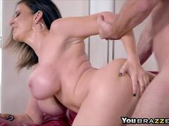 Mommy Sara Jay Putting Her Tits To Good Use