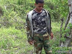 twink scout wanking off in the woods video