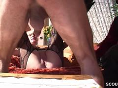 Redhead German MILF is ready for some hardcore banging