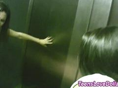 teen fucked in elevator hot