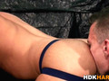 raw dawged stud swallows blowjob