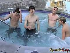 Spanked at nudist colony gay Hanging Out With The Boys