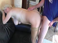 milf gets fuck and cum in her ass from boy feature