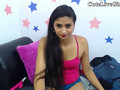 Indian chick is willing to tease in and touch her self in front of webcam