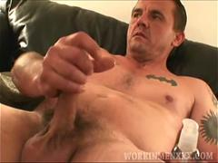 Mature Amateur Ronnie Jacks Off