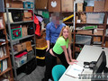 Blonde short hair teen hd She was apprehended and brought to the backroom for questioning