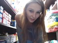 my daring masturbation in the store