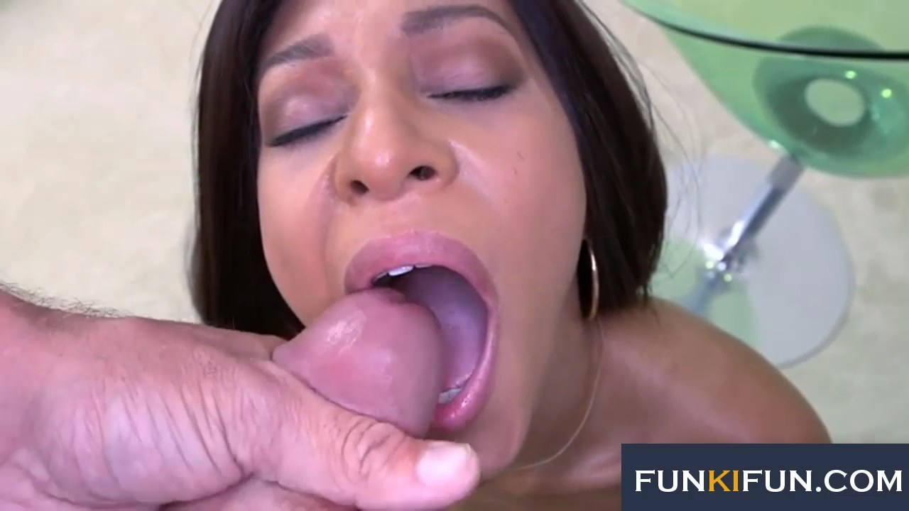 Big cum load swallow