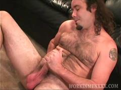 Mature Amateur Chris Jerks Off