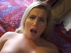 Hot Blonde Mom Fucks Son