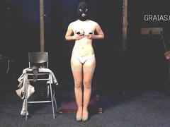 Girl introduced to clamps during casting