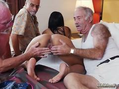 Old man seduces young girl and xxx Staycation with a Latin Hottie
